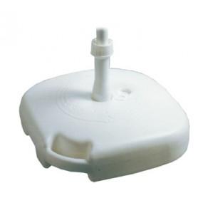 BASE PER OMBRELLONE IN PVC QUADRO CM. 45X45X10