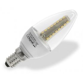 BEGHELLI LAMPADA A LED 56013 OLIVA E14 W3,5 LUCE CALDA TRASPARENTE