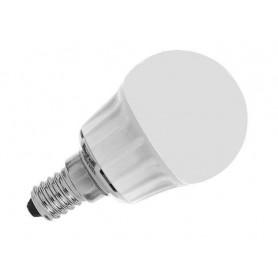 BEGHELLI LAMPADA A LED 56016 SFERA E 14 W 4 LUCE CALDA OPALE