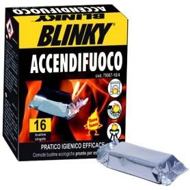 BLINKY ACCENDIFUOCO SCATOLA 16 BUSTINE
