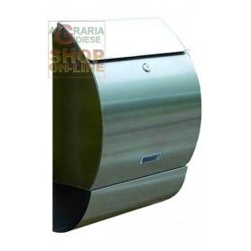 BLINKY CASSETTA POSTALE COTTAGE IN ACCIAIO INOX 33X15X49H 27278-10/9