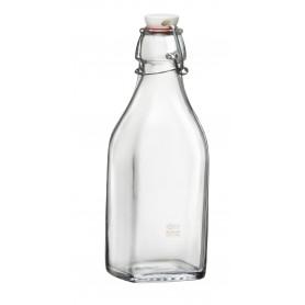 Bottiglia Bormioli Rocco Swing 125ml tappo meccanico in vetro acqua