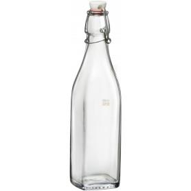 Bottiglia Bormioli Rocco Swing 500ml tappo meccanico in vetro acqua