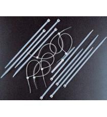 FASCETTE DI CABLAGGIO NYLON NERE MM. 2,5 X 135 PZ. 100