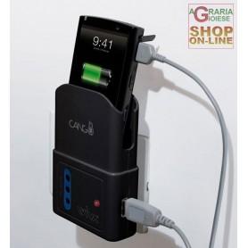 CARICABATTERIE UNIVERSALE USB CON TASCA WIVA CANGU PER TELEFONINI