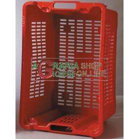 CASSETTE IN PLASTICA PER RACCOLTA OLIVE PORTAFRUTTA SOVRAPPONIBILI CM.53X35X31H.