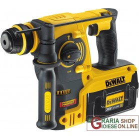DeWALT TASSELLATORE SDS PLUS PROFESSIONALE CON DUE BATTERIE LITIO 36V 2Ah DCH363D2