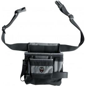 Einhell Borsa porta utensile con cintura a 8 scomparti