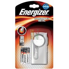 ENERGIZER TORCIA COMPACT LED METAL