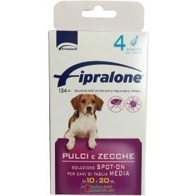 Fipralone antiparassitario pulci e zecche spot-on cane 10 - 20 kg pipette 4