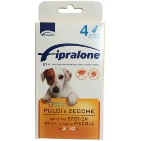 Fipralone antiparassitario pulci e zecche spot-on cane 2 - 10 kg pipette 4