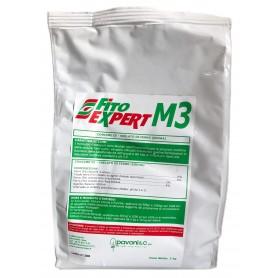FITO EXPERT M3 FERTILIZZANTE A BASE DI Ferro chelato al 6% KG.1