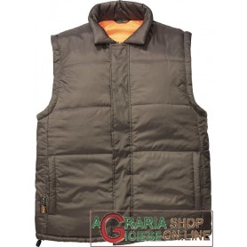 GILET DISCO MARRONE IN NYLON IMBOTTITURA IN POLIESTRE TG. M - XXL