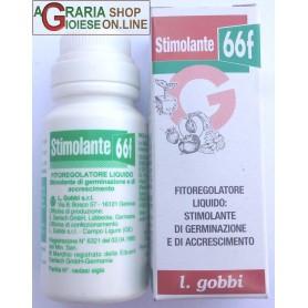 GOBBI STIMOLANTE 66F FITOREGOLATORE LIQUIDO STIMOLANTE DI GERMINAZIONE E DI ACCRESCIMENTO ML. 20