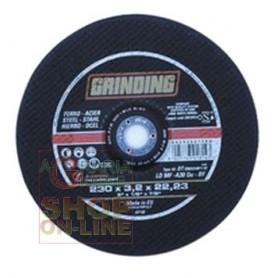 GRINDING DISCO MOLA ABRASIVO PER FERRO LT-LDMF PER METALLI DIAM. 230X3,2
