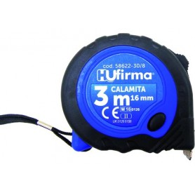 HU-FIRMA FLESSOMETRO CON CALAMITA NASTRO MM. 16 MT. 3