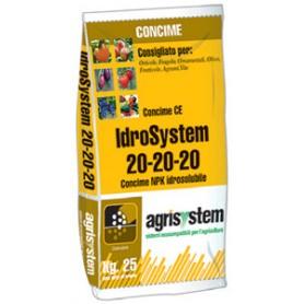 IDROSYSTEM CONCIME PER FERTIRRIGAZIONE 20.20.20 KG. 25