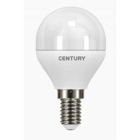 LAMPADA CLASSICA A LED LUCE CALDA E14 ECOLIGHT A SFERA WATT. 6 PZ. 3