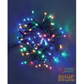 LED 100 LUCI CON CONTROLLER BIANCO CALDO 23376