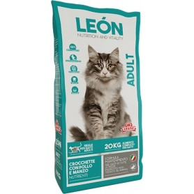 LEON CAT MANGIME PER GATTI CROCCHETTE ADULT KG. 20