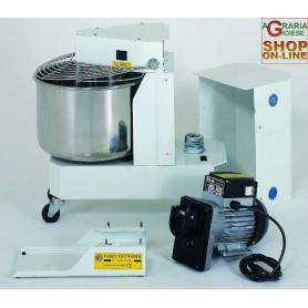 LEONARDI IMPASTATRICE INOX KG. 8 CON MOTORE HP. 0,5 MULTIUSO