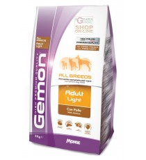 GEMON MANGIME PER CANI ADULT LIGHT CON POLLO KG. 3