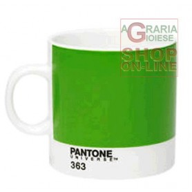 PANTONE TAZZA GRANDE IN PORCELLANA COLORE CLASSI GREEN RCP LC GR