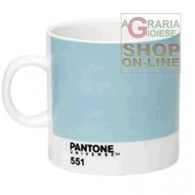 PANTONE TAZZINA PER CAFFE ESPRESSO IN PORCELLANA COLORE CANAL BLUE RCP EC LB