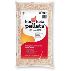 Pellet per stufe Bio Holz Pellets legno di Abete 100% kg. 15