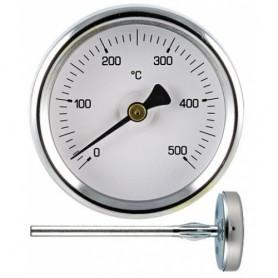 PIROMETRO TERMOMETRO PER FORNO DA 55 mm ACCIAIO INOX GAMBO 5,5 cm