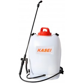 Pompa a spalla Kasei WS-15DA a batteria 12v bar 2/4 per irrorazione lt. 15