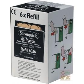 RICARICHE CEROTTI ART  6036  6 BOX DA 45 CEROTTI