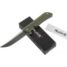 RUIKE RKE HUSSAR P121-G COLTELLO CHIUDIBILE CON MANICO VERDE