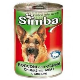 SIMBA BOCCONCINI PER CANI CON VITELLO GR. 415