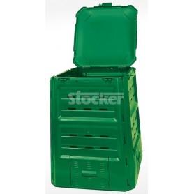 STOCKER COMPOSTIERA COMPOSTER CONTENITORE PER COMPOSTAGGIO TERMOQUICK LT. 410