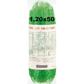 STOCKER RETE PER RAMPICANTE MT. 1,20 X 50 VERDE