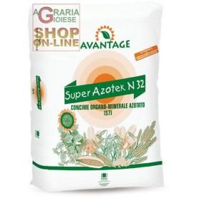 SUPER AZOTEK N 32 CONCIME ORGANO MINERALE AZOTATO (S7) kg. 25