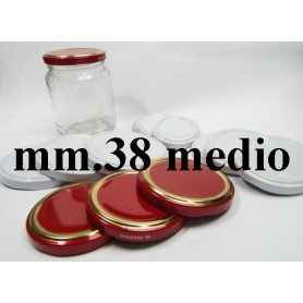 TAPPO  38 MEDIO PER VASETTO IN VETRO