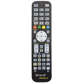 TELECOMANDO UNIVERSALE PER TV DVD PROGRAMMABILE MOD. TECHNO 3