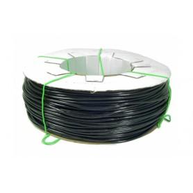TUBICINO PVC MORBIDO NERO PER IRRIGAZIONE O LEGACCIO PER PIANTE mm. 3,5 x 5,5 KG. 8