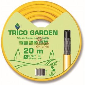 TUBO TRICO GARDEN GIALLO NERO MT. 20 DIAM. 1/2