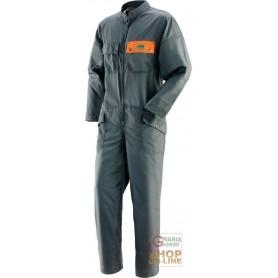 TUTA FORESTA COTONE POLIESTERE  EN381 5  COLORE VERDE ARANCIO  TG  L XL XXL XXXL