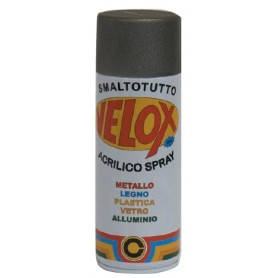VELOX SPRAY ACRILICO NITRO NERO OPACO N. 125 ML. 400
