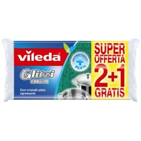 VILEDA GLITZI CRYSTAL  2 + 1 pz. C+C