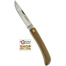 VIRGINIA COLTELLO GARDEN CM. 8 MANICO LEGNO COD. 0954/2059