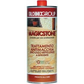 Magicstone trttamento antimacchia idro-oleo repellente per pietre naturali e superfici lapidee assorbenti lt. 1