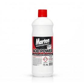 Marten Acid Power è un elettrolita acido per accumulatori a base di acido solforico