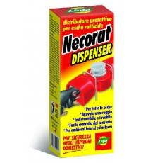 LINFA NECORAT DISPENSER DISTRIBUTORE PER ESCHE TOPICIDE HACCP
