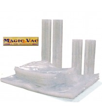MAGIC VAC BUSTE GOFFRATE CM.20X30 PER SOTTOVUOTO PZ.100