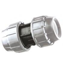 MANICOTTO TUBO NERO 25X25